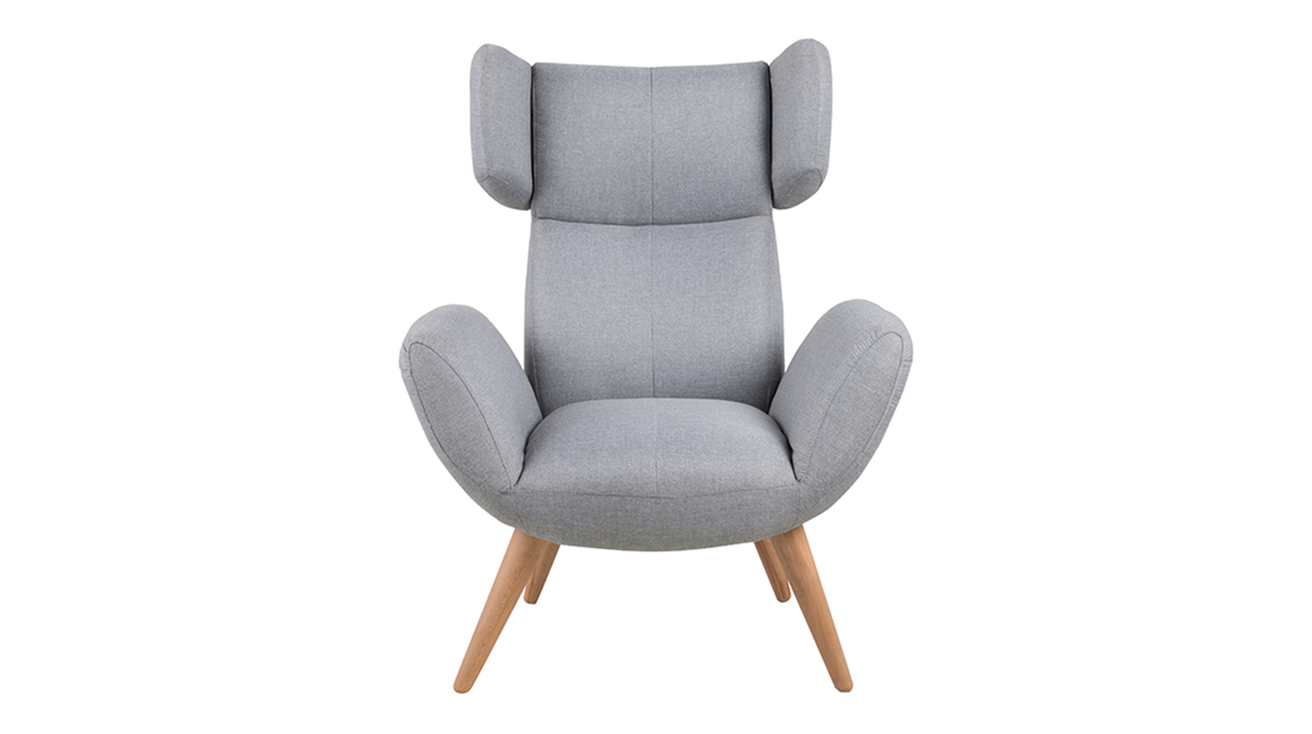 BALFOUR Resting chair - Light grey