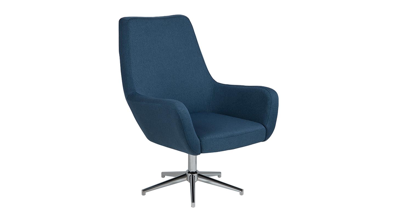 RYLEE SWIVEL Living chair - dark blue