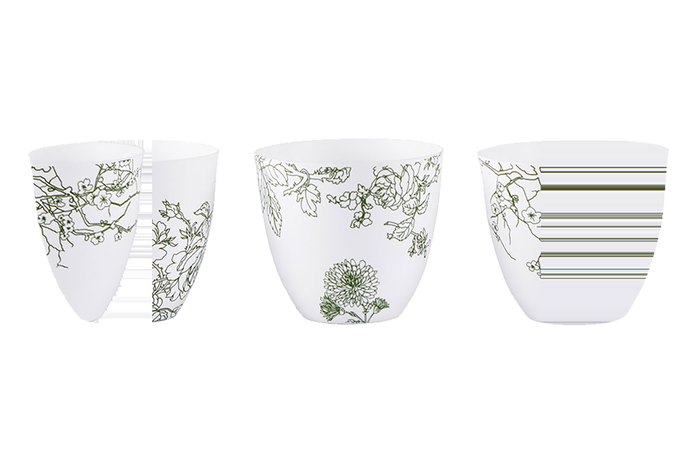 Chân Nến Porcelain